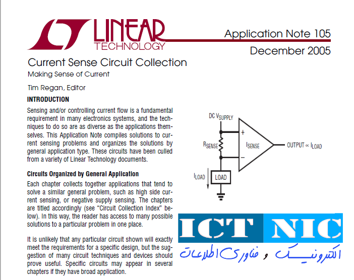 book Current Sense Circuit ictnic