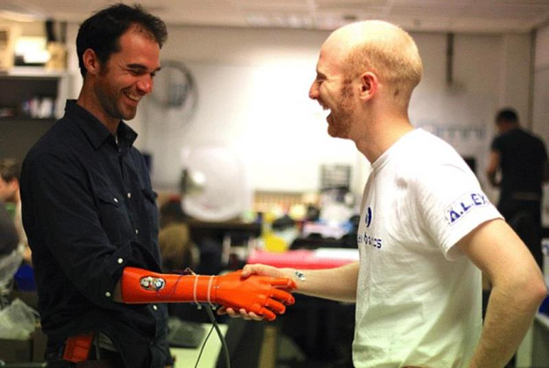 3D printed robotic hand wins James Dyson Award popup